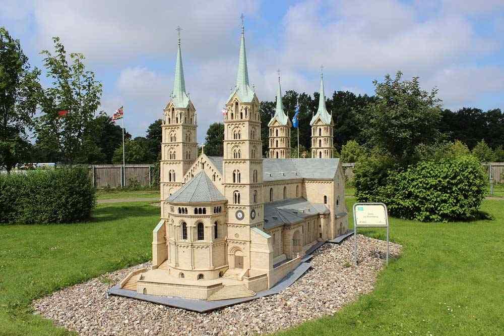 Der Miniaturenpark in Gingst auf Rügen