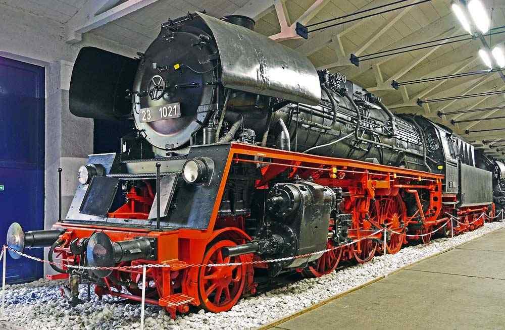 Eisenbahnmuseum in Prora