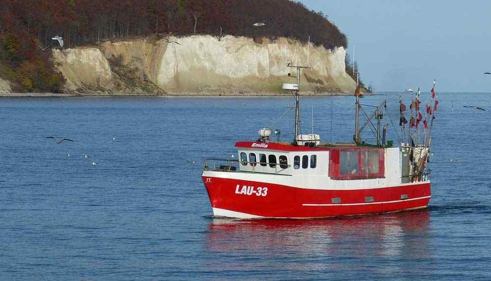 Fischkutter - Die Insel Rügen blickt auf eine bewegte Geschichte
