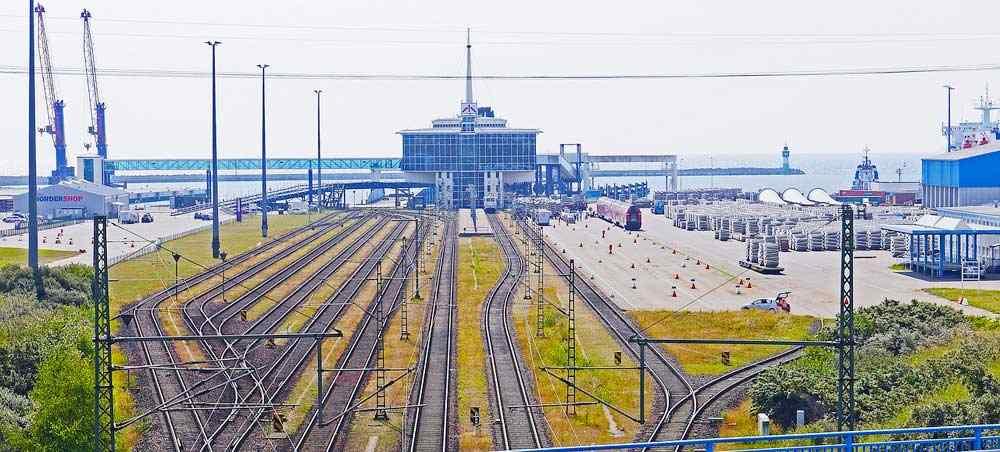 Sassnitz Mukran Fährbahnhof