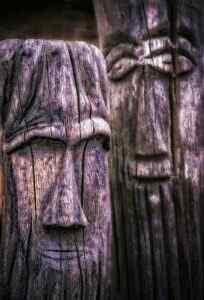 Slawische Götter im Museum Cap Arkona