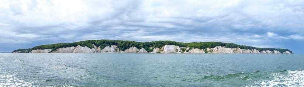 Panorama von der Steilküste